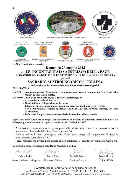 Invito 26 maggio 2013 italiano